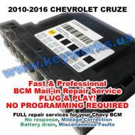 Chevy Cruze (2010-2016) BCM REPAIR