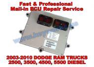 Dodge Ram (2003-2010)(DIESEL) ECU Repair