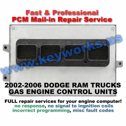 Dodge Ram GAS (02-10) PCM Repair