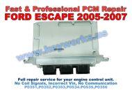 Ford Escape (2005-2007) PCM Repair