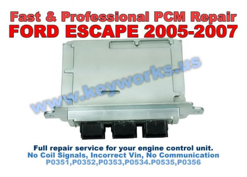 Ford Escape (2005-2007) PCM Repair