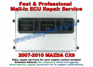 Mazda CX9 (07-10) PCM Repair