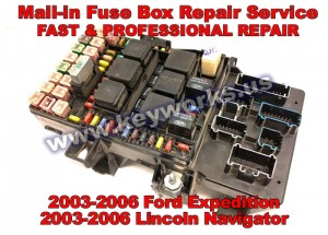 Ford Expedition (03-06) Fuse Box Repair