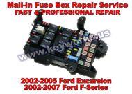 Ford Excursion (02-07) Fuse Box Repair