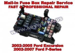 Ford F-250,350,450,550 (02-07) Fuse Box Repair