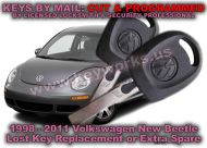 VW Beetle (98-11) Key Replacement