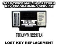 Saab 9-3 (1999-2003) Key Replacement