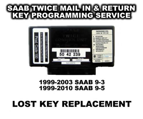 Saab 9-5 (1999-2010) Key Replacement