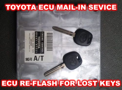 Toyota Solara(1998-2006) Key Replacement