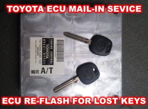 Toyota MR2 Spyder (2000-2005) Key Replacement