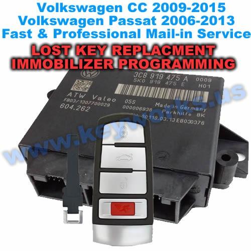 Passat & CC (2006-2013) Smart key Replacement