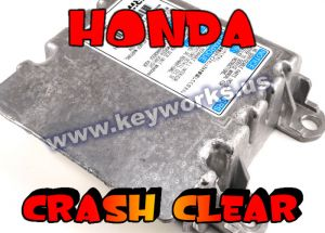HONDA CRASH REMOVAL