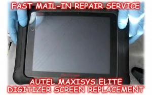 Autel MaxiSys Elite Screen Repair Service